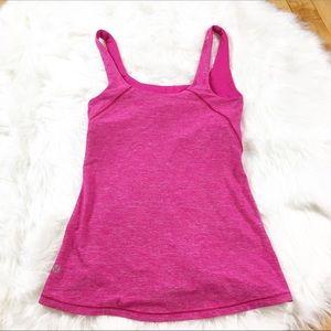 Lululemon Pink Tank Top Size 6